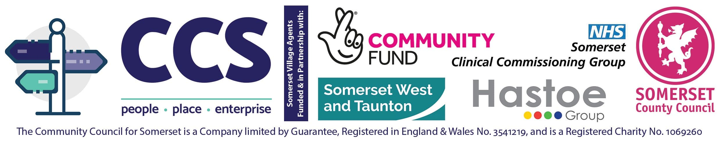 Somerset Village Agents funded and in partnership with...
